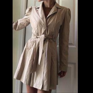 Maurice's Khaki Trench Coat